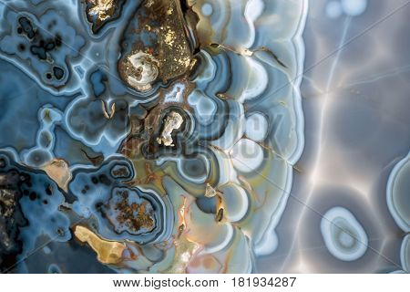 Abstract color onyx mineral  texture - detail.