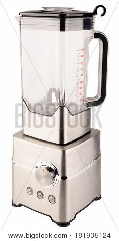 Stationary electrical blender isometric view isolated on the white background