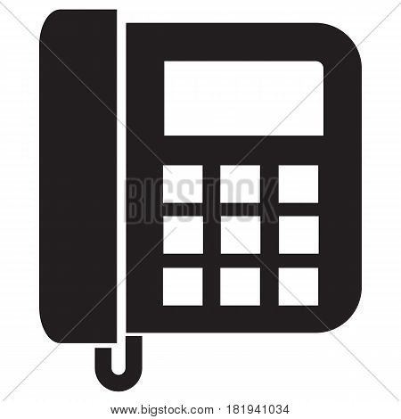 telephone icon Office Answering Machine Landline Phone