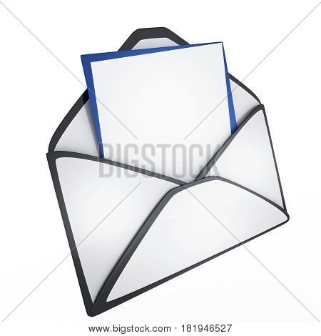 Isolated E-mail Icon