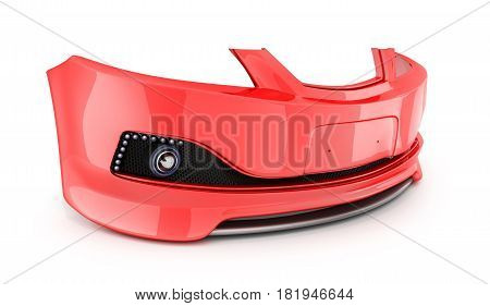 Red Bumper Car