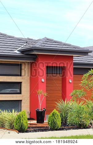 Modern architecture exterior details in Australia Victoria