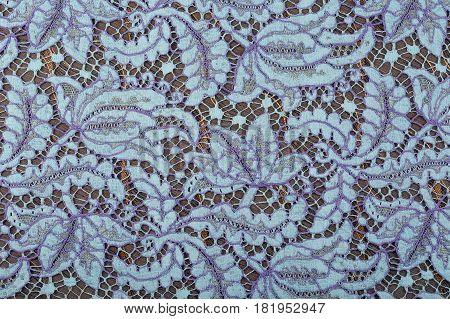 Lace Floral Ornament