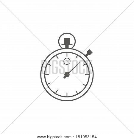Timer icon vector. Waiting, Time and Clock concept. Line art icon. Business and management.