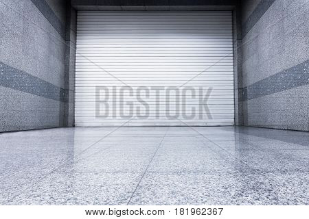 Roller shutter door Indoor auto type., Steel shutter door.