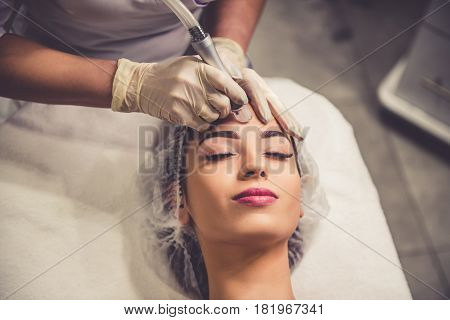 Woman At The Beautician