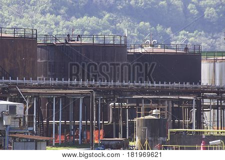 Chemical Plant In La Speiza