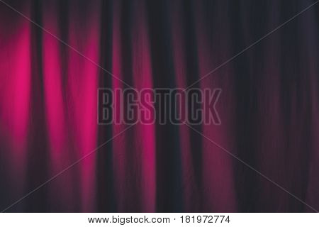 Cotton Fabric With Spot Light