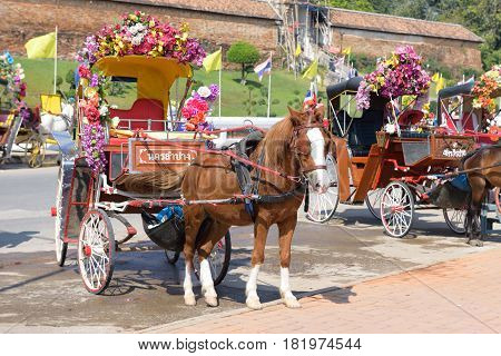 Carriage In Lampang