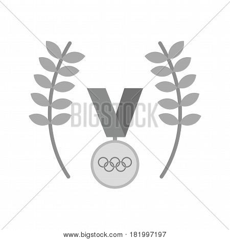 Medal, gold, olympics icon vector image. Can also be used for olympics. Suitable for mobile apps, web apps and print media.