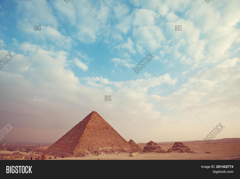 View Pyramids Giza, Image & Photo (Free Trial) | Bigstock