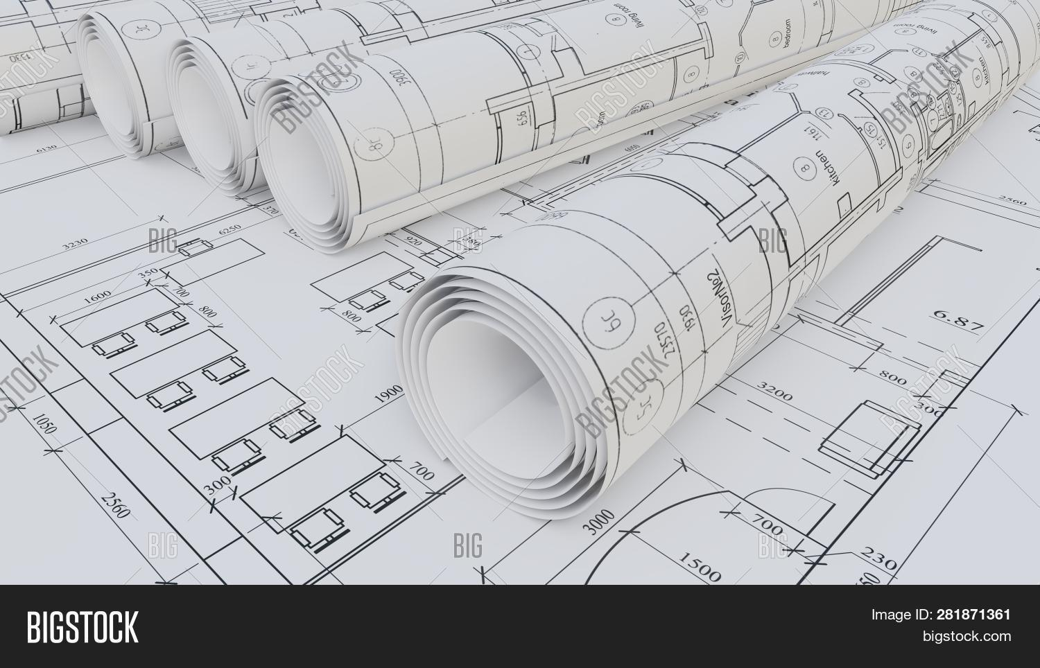 Architectural Drawings Image & Photo (Free Trial) | Bigstock