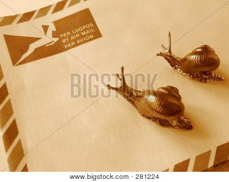 Air Mail Or Snail Mail?