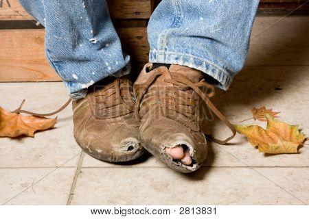 Battered Shoes
