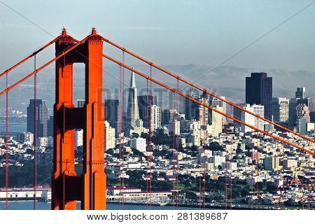 San Francisco From The San Francisco Headlands