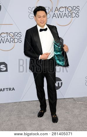 LOS ANGELES - JAN 27:  John M Chu at the 25th Annual Screen Actors Guild Awards at the Shrine Auditorium on January 27, 2019 in Los Angeles, CA