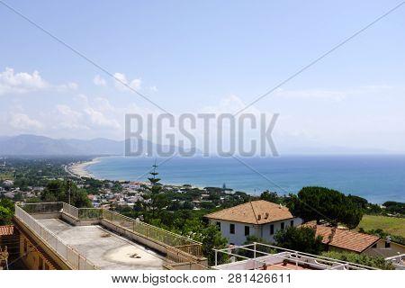 San Felice Circeo, Italy, Lazio, View Of The Seaside