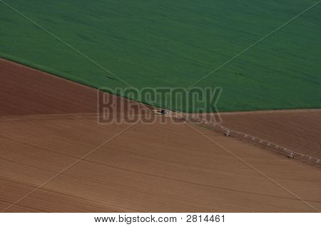 Irrigation System - Aerial View
