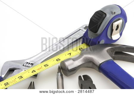 Hammer And Measure Tape