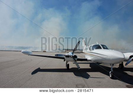 Smoky Airplane