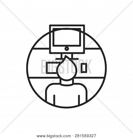 Worker Vector Icon On White Background. Worker Icon In Modern Design Style. Worker Vector Icon Popul