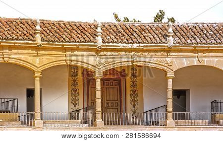 Ronda, Spain-september 27, 2018: The Ronda Bullring Is Beautiful And You Can Enter, Walk Around With