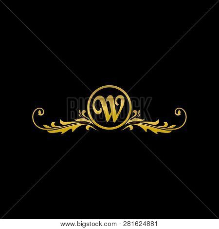 Letter W Luxury Logo, Classic And Elegant Logo Designs For Industry And Business, Boutique Logo, Gol