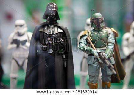 San Diego, California - July 11, 2011: Kotobukiya Unveiled A New Lineup Of Star Wars Artfx+ Statues