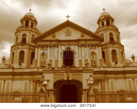 Quiapo Church In Manila