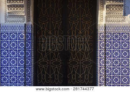 Colorful Medina Of Marrakesh. Marrakesh, Marrakesh-safi, Morocco.