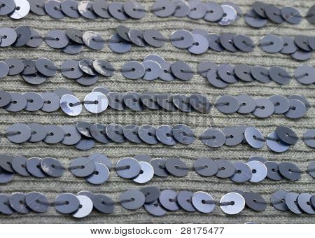 fabric texture with spangles, sequin for background
