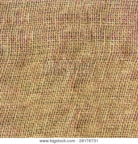 Close-up textured background of burlap. Best choice for designers.