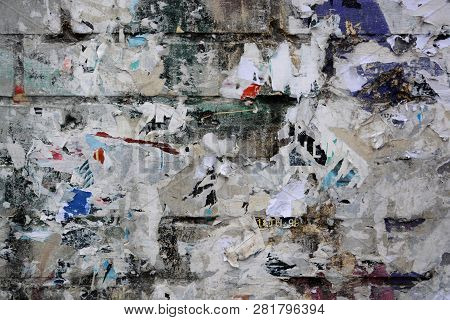 Abstract Torn Posters