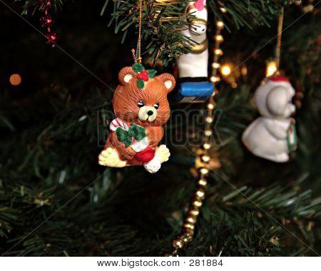 Cute Bear Ornament Levels