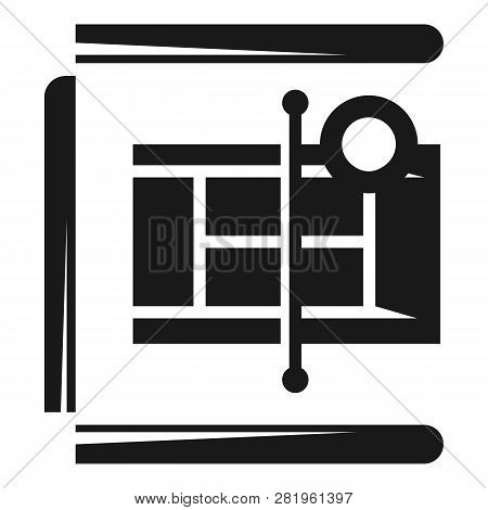 Tennis Court Icon. Simple Illustration Of Tennis Court Vector Icon For Web Design Isolated On White