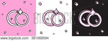 Set Washing Dishes Icon Isolated On Pink And White, Black Background. Cleaning Dishes Icon. Dishwash
