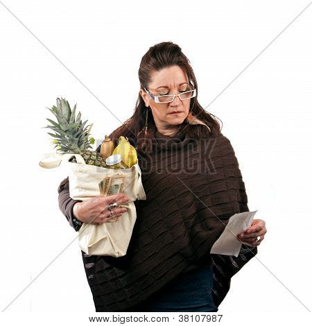 Overcharged At The Grocery Store