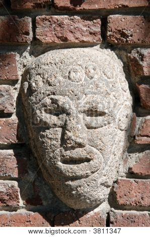 Ancient American Stone Bas Relief