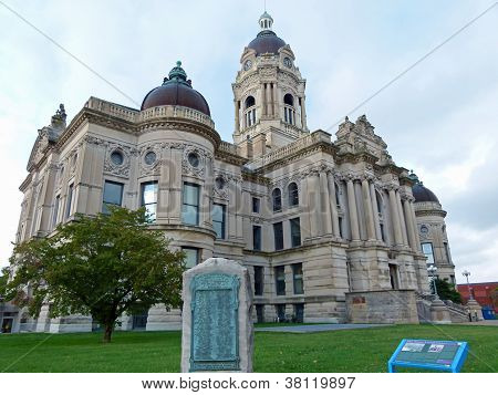Historical Court House, Yr. 1890