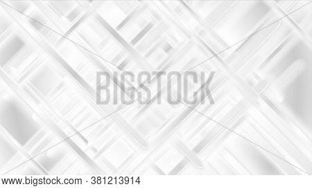 White grey glossy stripes background