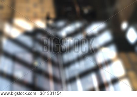 Blurred Light Reflections For Backgrounds And Compositions