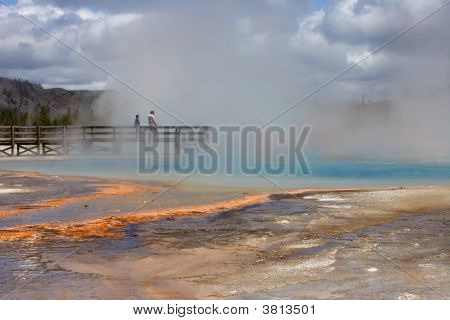 Closely Look At The Geyser