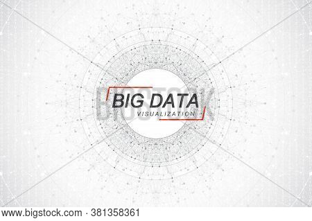Big Data Visualization. Big Data Machine Learning Algorithms. Data Array Visualization. Visual Infor