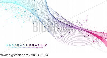 Scientific Vector Illustration Genetic Engineering And Gene Manipulation Concept. Dna Helix, Dna Str