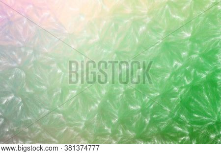 Abstract Illustration Of Green Low Coverage Pastel Background.