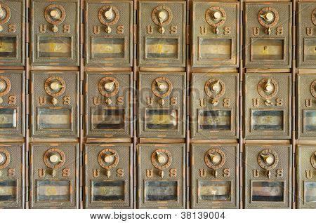 Old Us Mailboxes
