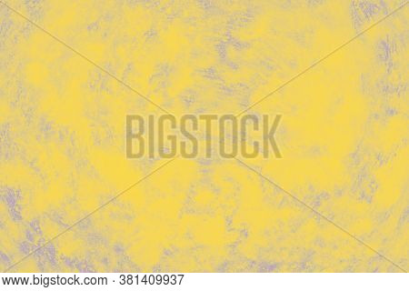 Ceramic Background With Paint Brush Strokes Pattern, Yellow Patchy Background