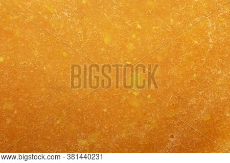 Apple Puree Crushed In A Blender.background Of Applesauce.
