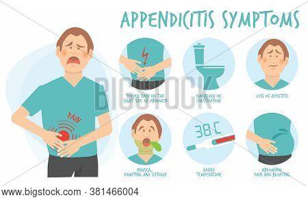 Symptoms Appendicitis. Body Treatment Diharea Gastric Problems Patient Constipation Body Pain Append