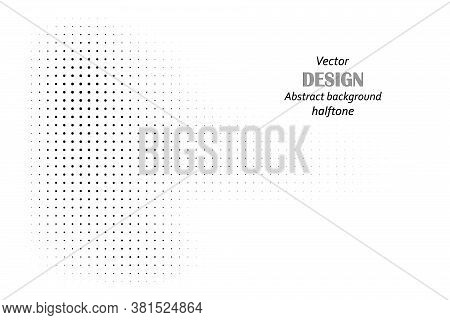Halftone Illustrator. Halftone Dots. Halftone Effect. Vector Halftone Dots. Dots On Background. Vect